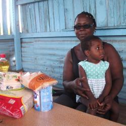 Dons de kits alimentaires aux enfants vulnérables et aux familles pendant la période de COVID-19